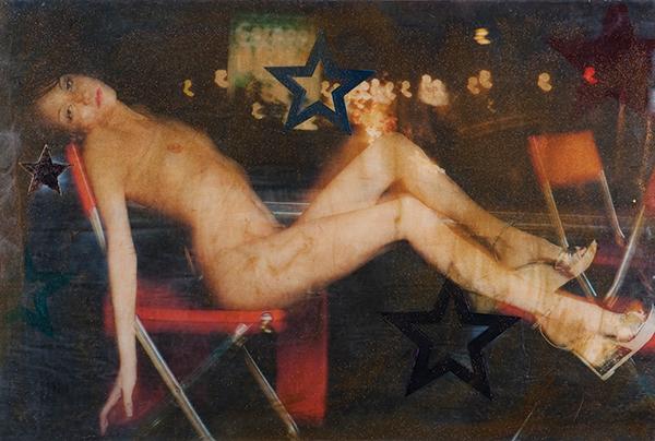 "Stephanie Farr, Shoe Ad, Multimedia, 72""X48"", 2008"