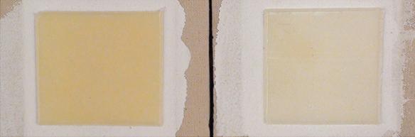 Regular Gel On Cotton Canvas Unwashed v Washed