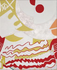 """Eesha, 2012, Acrylic on Linen, 80"""" x 65"""""""