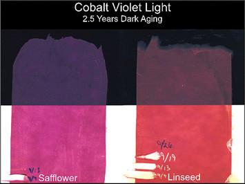 Cobalt Violet Light Drawdowns