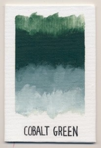 Williamsburg Handmade Oils Cobalt Green