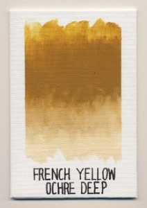 Williamsburg Handmade Oils French Yellow Ochre