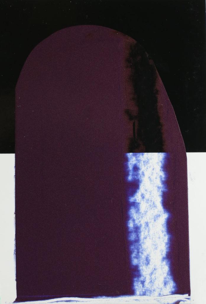 Iridescent Copper and Ultramarine Blue