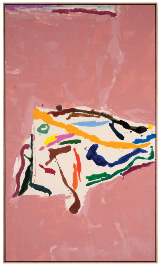 "Summerland, 2012, Acrylic on Canvas, 75 1/2"" x 46 1/4"" © Kikuo Saito"