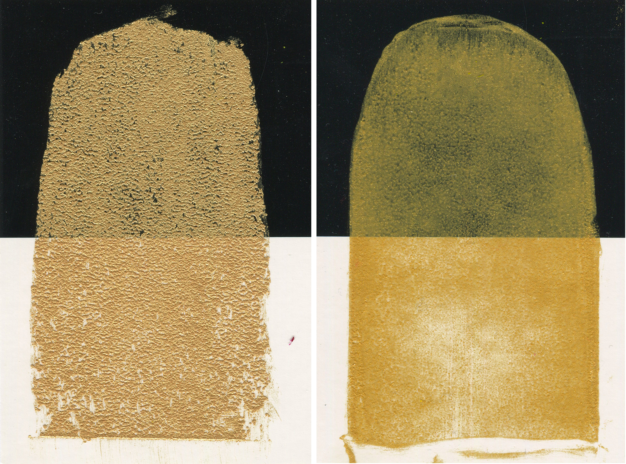 Not All That Glitters Is Gold Williamsburg Iridescent And Interference Oil Colors Just Paint