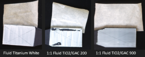 Adhesion tests on 3D printed PC-ABS.